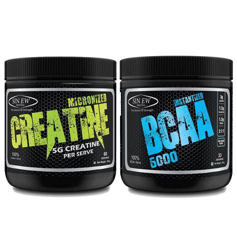 creatine and bcaa buy sinew nutrition micronised creatine monohydrate 300g