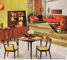1960s drexel perspective dining room furniture ad classic early 60 s living room mid century modern