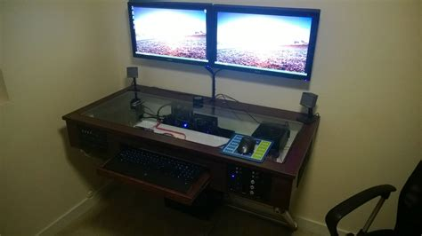 tv and computer desk computer desk imgur computers pinterest desks diy