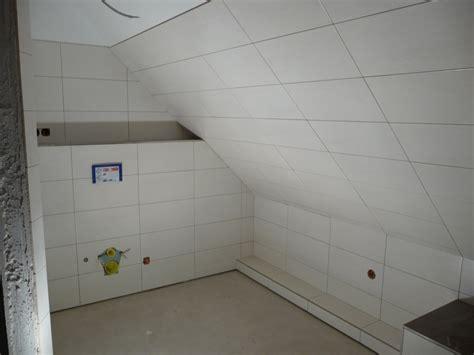 Kleines Badezimmer Große Fliesen by Haus Ganz In Weiss