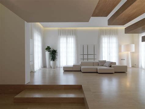 minimalist living space images