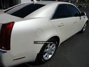 Cadillac Pearl White Paint 2009 Cadillac Cts 4 Awd White Tri Coat Paint