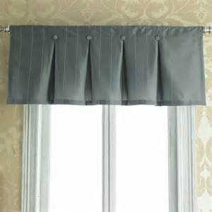 Box Pleat Valance Inverted Box Pleat Button Valance Interiors Window