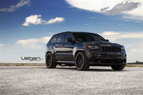 jeep srt rims 22 quot velgen vmb5 black concave wheels rims fits jeep grand