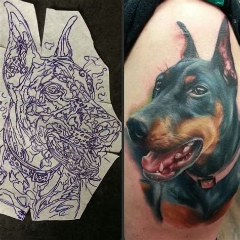 doberman tattoo designs doberman images designs