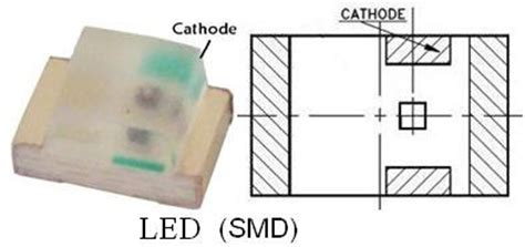 anode cathode led smd au electronics how to identify the pin number on smd packages