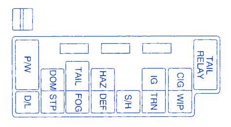 tracker 2000 layout design software chevy tracker 2001 main fuse box block circuit breaker
