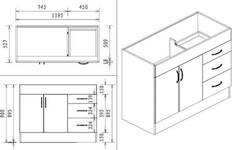 standard kitchen sink cabinet size kitchen sink base cabinet size new interior exterior