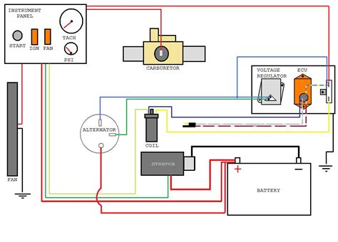 mopar msd 6al wiring diagram electrical and electronic