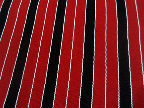 red and black upholstery fabric red black and white stripe handwoven fabric durable fabric