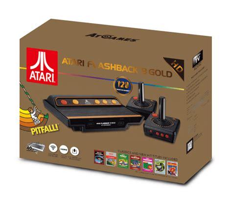 atari classic console the atari flashback 8 gold sega genesis flashback set