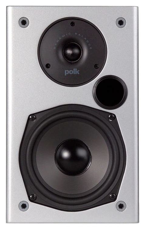 polk m10 2 way front ported bookshelf loudspeaker precio