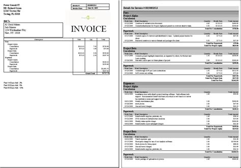 project invoice template 28 images invoicing screen