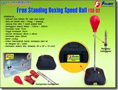 Speedball Boxing Satu Set free standing boxing speed fsb 02 cv jaya bersama
