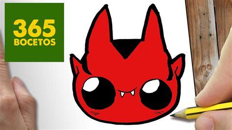 imagenes de halloween para el pin como dibujar demonio kawaii paso a paso dibujos kawaii