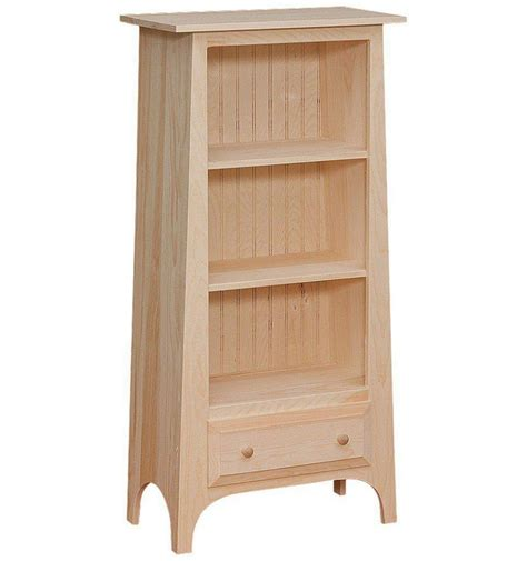 24 inch slant bookshelf simply woods furniture