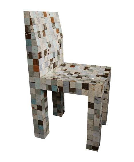 waste waste 40x40 by piet hein eek uses offcuts from scrap