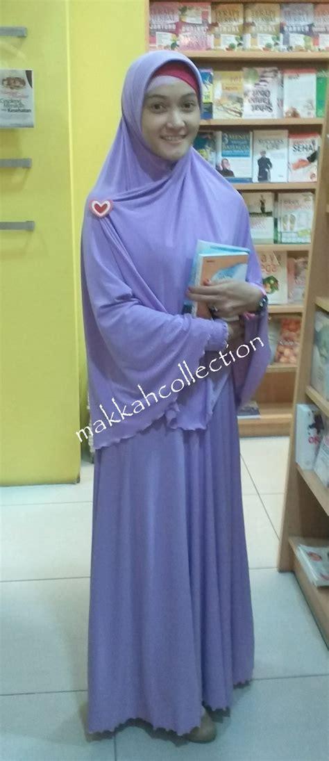 Gamis Mecca Syari Aq 1 gamis syar i makkah collection nuansa biru