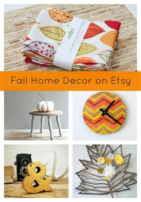 Etsy Home Decor by Fall Home Decor On Etsy