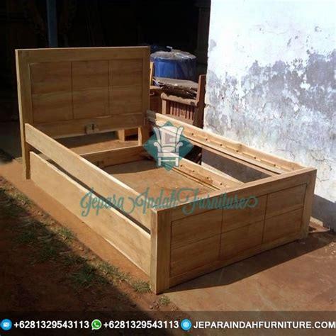 Dipan Kayu Sorong jual dipan sorong minimalis kayu jati jepara indah furniture
