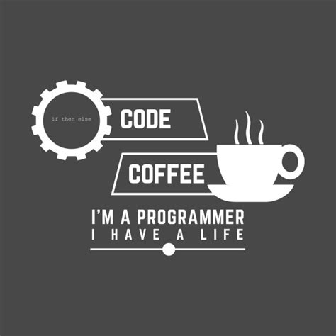 Tshirt Programer Code programmer code and coffee i am a programmer