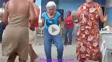 funny dance    lady  baby doll song masti