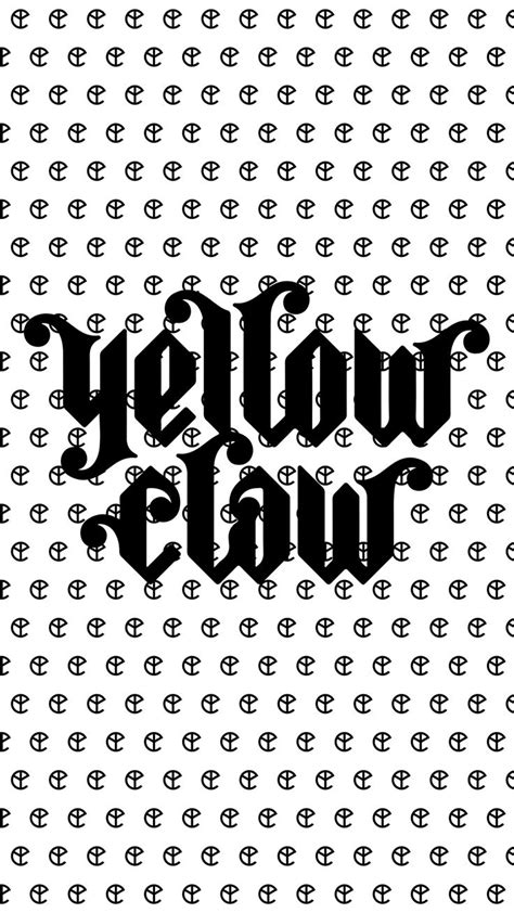 Kaos Dj Yellow Claw Bfm logo yellow claw blanco y negro logotipos