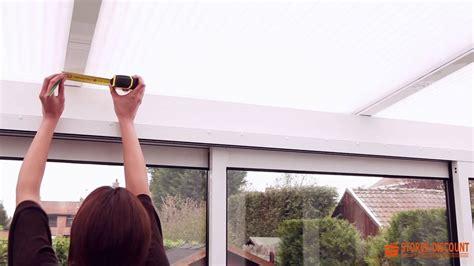 Store Plafond Interieur Pour Veranda 7541 by Mesures Pour Un Store Velum Au Plafond D Une V 233 Randa