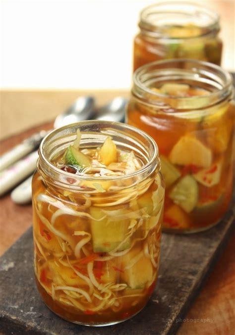 la cuisine de lia asinan buah  sayuran