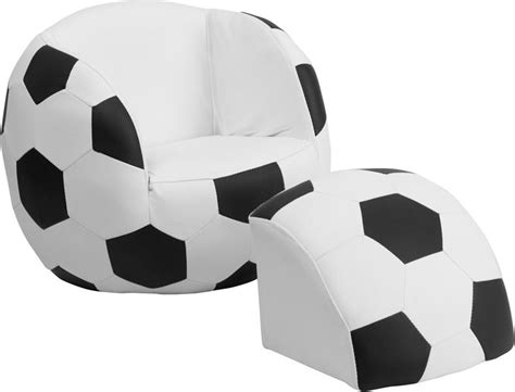 soccer chair and footstool from furniture