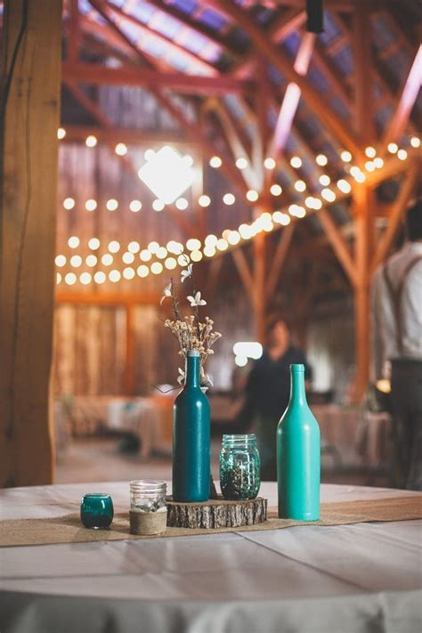 25  best Turquoise centerpieces ideas on Pinterest   Teal