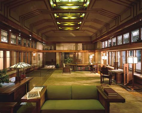 frank lloyd wright interiors frank lloyd wright home and studio interior google