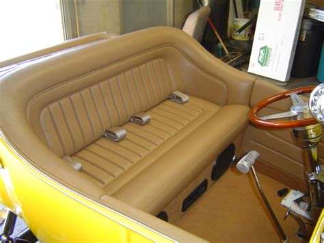 23 T Interior by Ford Model A Upholstery Kits