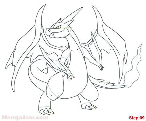 Charizard Ex Coloring Pages by Mega Charizard Ex Coloring Pages Coloring Pages
