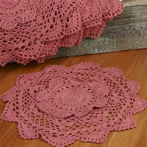 Handmade Doilies For Sale - crocheted doilies on sale home decor