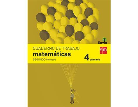 descargar cuaderno de matematicas 5 primaria 2 trimestre savia 9788467570151 recursos evaluaci 243 n repaso ex 225 menes de 4 186 de primaria