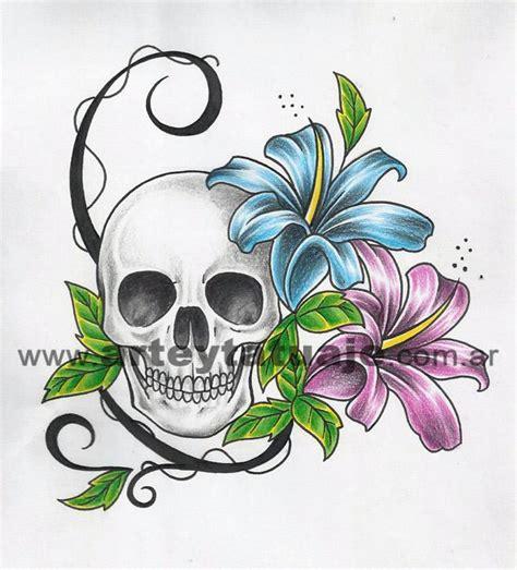 imagenes de calaveras tribales dise 241 o de calavera mexicana arte y tatuaje