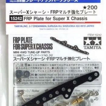 Tamiya Frp Reinforcing Plate Set 15193 1 mini 4wd upgrade parts archives wah wah model shop