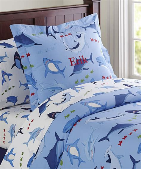Boys Shark Bedding Shark Bite Collection Shark Crib Bedding
