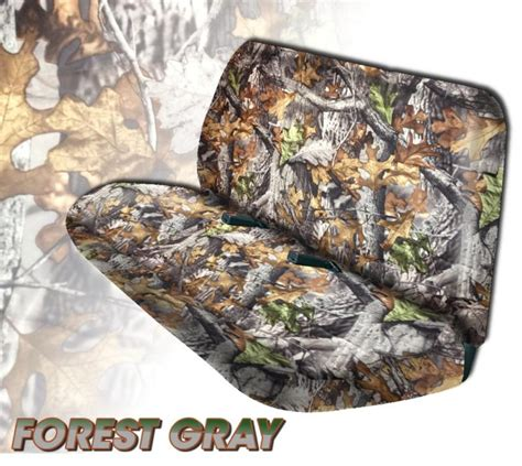 camo bench seat covers for chevy trucks sell camo front bench seat cover forest gray ford trucks