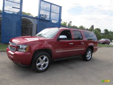 chevrolet suburban red suburban ltz or lt autos post