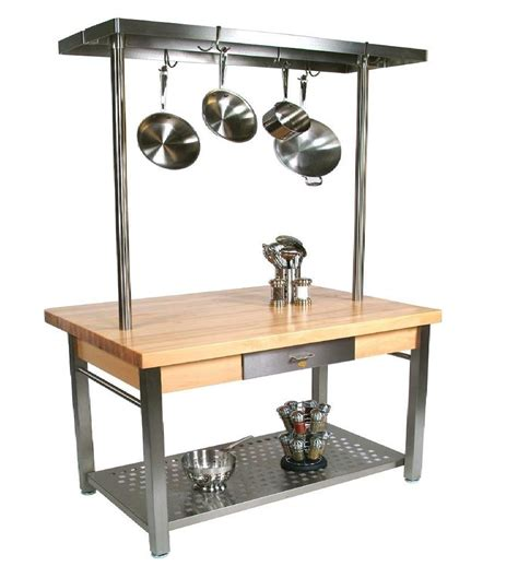 stainless steel butcher block table boos butcher block table quot cucina grande quot 36 quot x 60