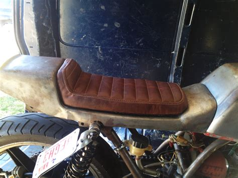 Diy Motorcycle Seat Upholstery by Rd400 A Seat Pan Motorcycle How To S Diy S