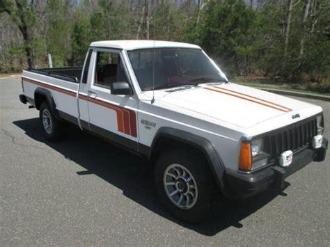 1986 jeep comanche rust free 2wd 1986 jeep comanche xls