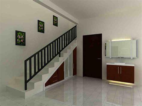 desain tangga rumah minimalis sederhana interior rumah