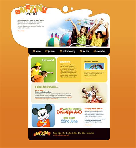 templates for entertainment website excitement xhtml template 2427 entertainment media