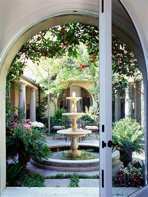 Patio Fountains by Outdoor Patio Fountains Home Decorating Community