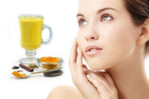 8 Perks Of Pale Skin by Amazing Benefits Of Turmeric Milk For Fair Skin And Health