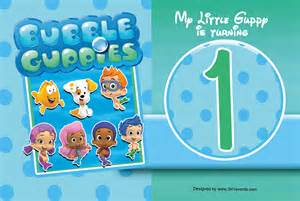 Guppies Invitation Template by Guppies Birthday Invitations Gangcraft Net