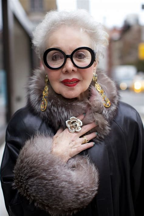 old and stylish rita ellis hammer advanced style project every age